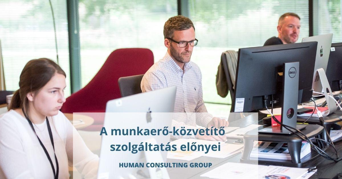 Human Consulting Group fejvadászat és munkaerő-közvetítő szolgáltatások